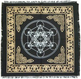 Metatron's Cube Altar Cloth