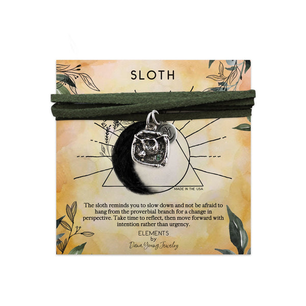 Sloth Talisman - Necklace by DYJ