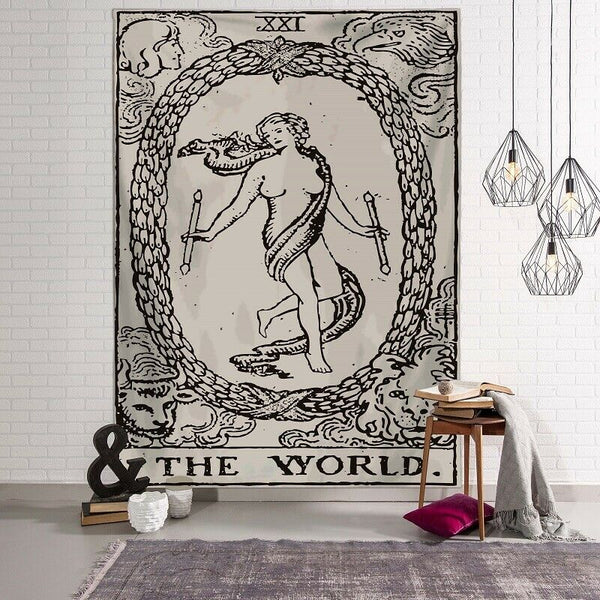 Tarot - The World Tapestry / Altar Cloth