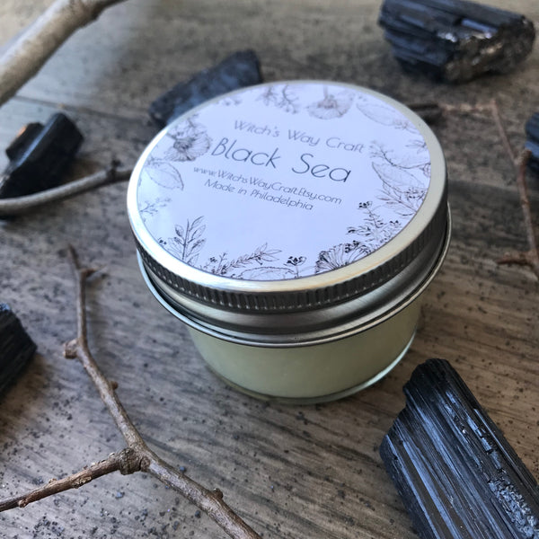 Black Sea - Scented Soy Candle