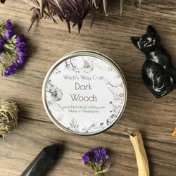 Dark Woods - Scented Soy Candle