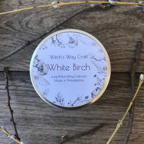 White Birch - Scented Soy Candle