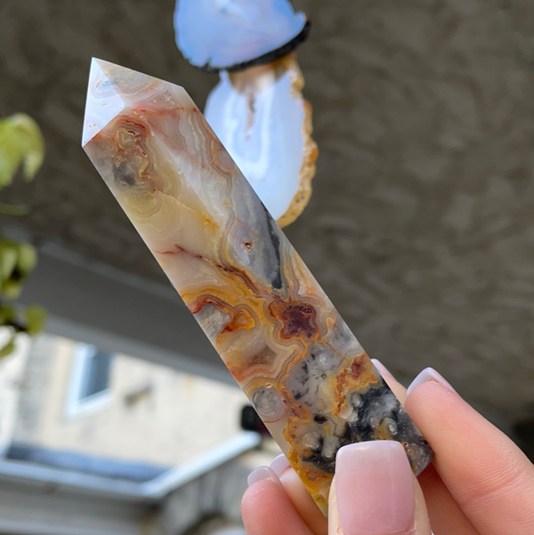 Crazy Lace Agate Point