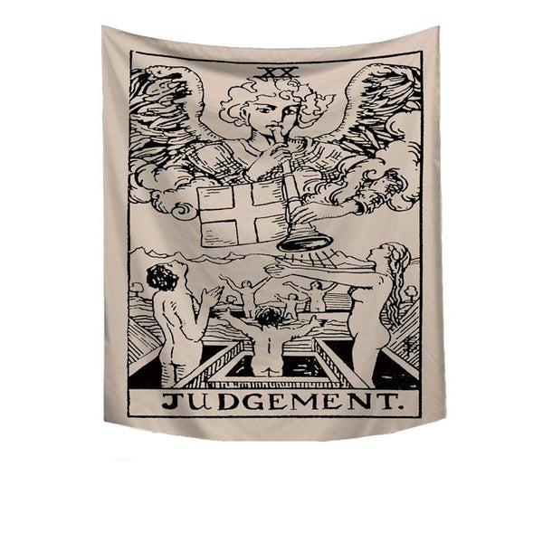 Judgement - Tarot Card - Tapestry / Altar Cloth