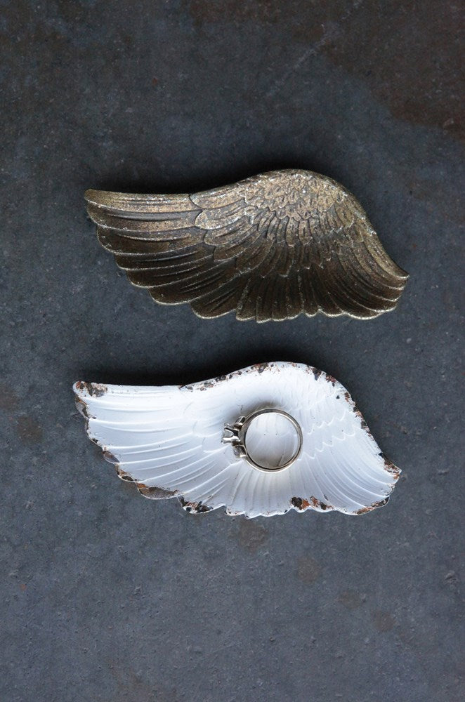 Pewter Wing Dish - Pick your color!