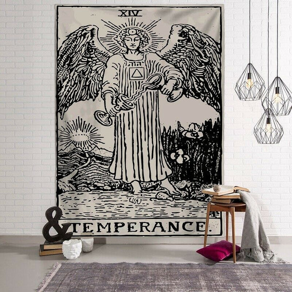 Tarot - Temperance Tapestry / Altar Cloth