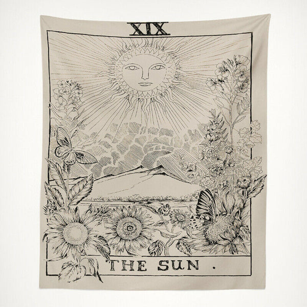 Tarot - The Sun Tapestry / Altar Cloth