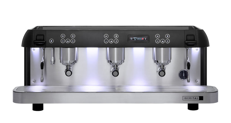 Iberital Expression Pro 3 Group Espresso Machine