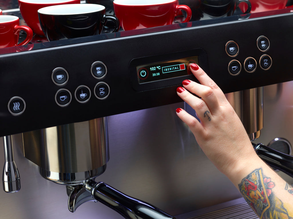 2 group coffee machine service now on