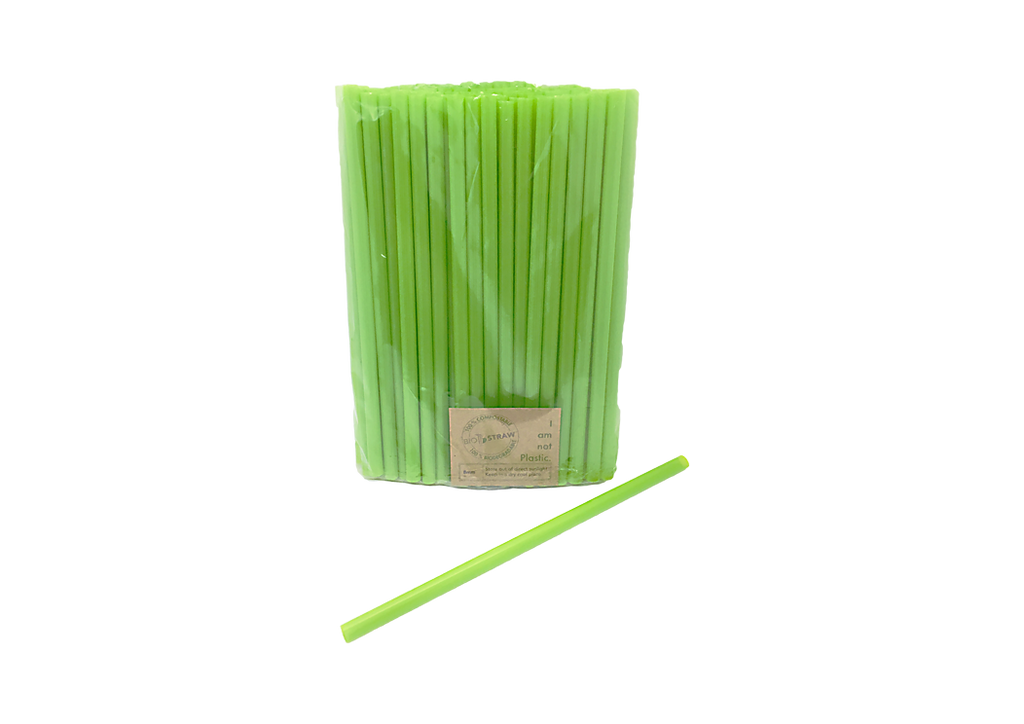 Bio Straw X 100 Unwrapped