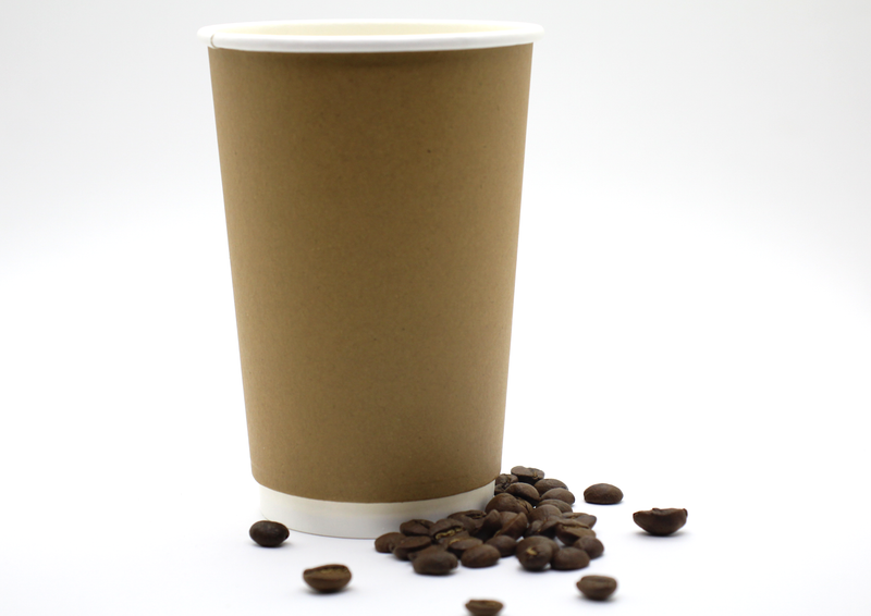 Kraft Coffee Cup - 500ml x 50