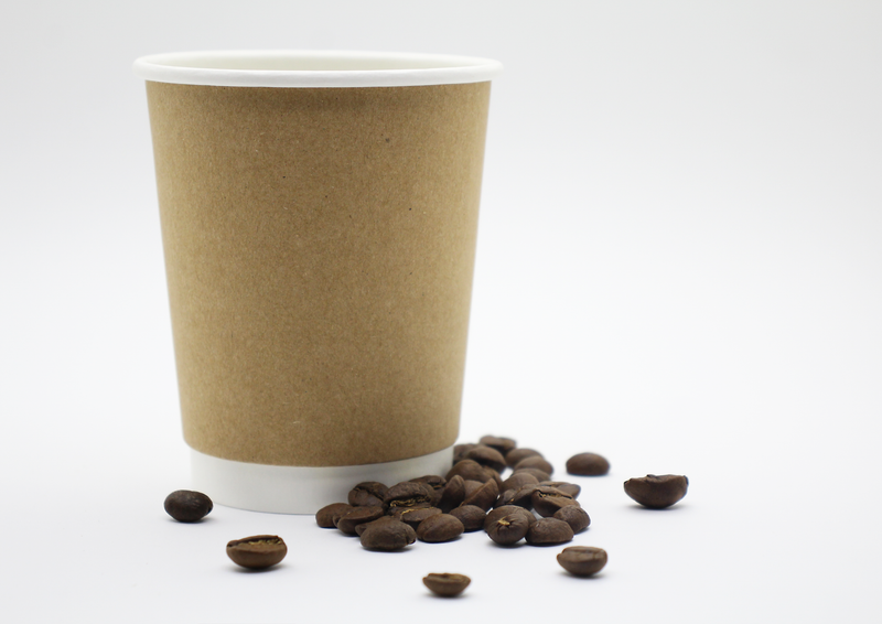 Kraft Coffee Cup - 250ml x 50