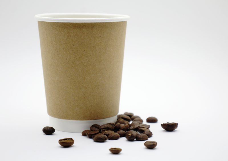 Kraft Coffee Cup - 350ml x 50