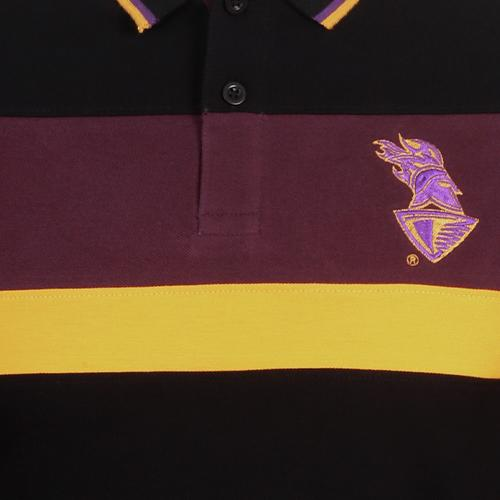 KKR Official Polo Printed Black