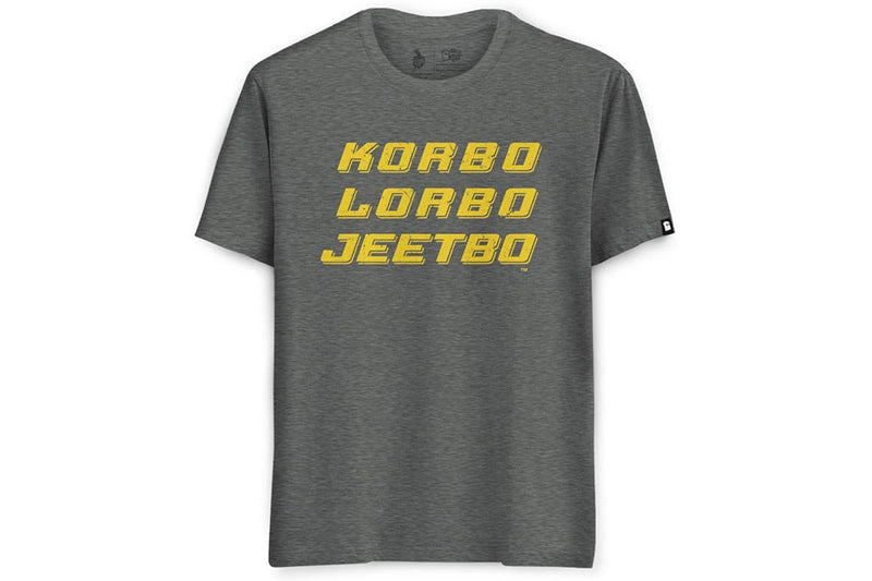 Korbo Lorbo Jeetbo (Unisex)  T-Shirt