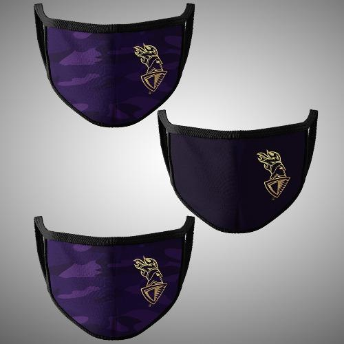 Kolkata Knight Riders Official Mask (Pack of 3)
