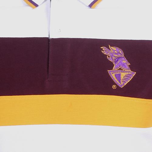 KKR Official Polo Printed White