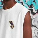 Men's KKR Official 2020 Muscle Tee White
