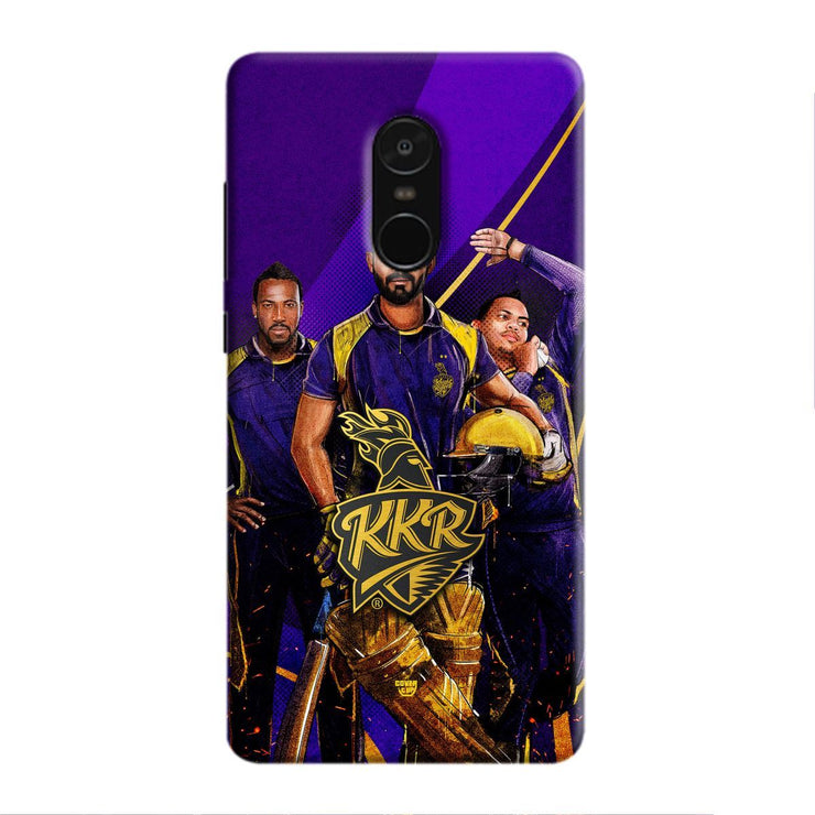 KKR Trinity 3D Redmi Note 5 Case