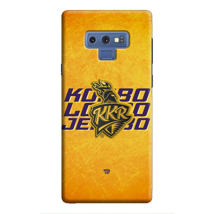 KKR Mantra 3D Galaxy Note 9 Case