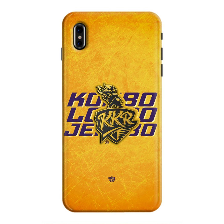 KKR Mantra 3D iPhone XS Max Case