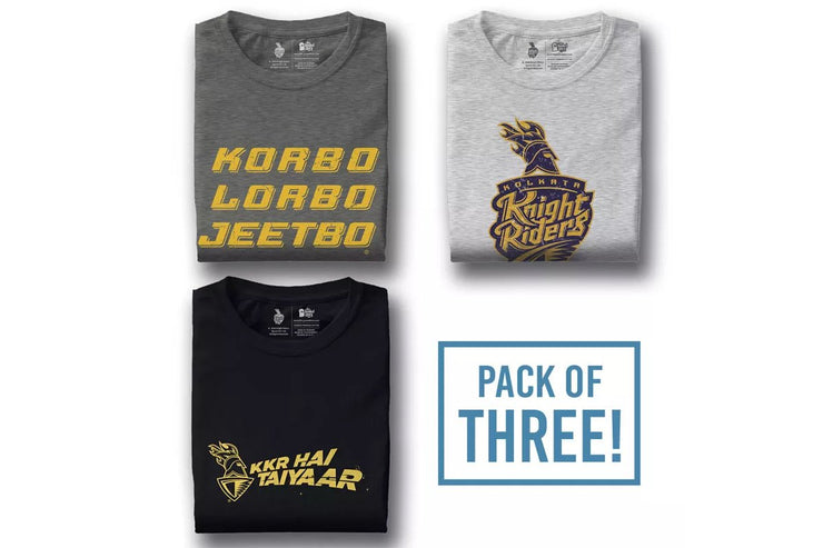 Pack Of Three: Kolkata Knight Riders