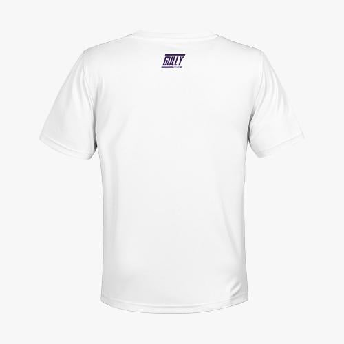 Women's KKR Official 2020 Drifit Tee Toofan White