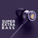 boAt Bassheads 152 Kolkata Knight Riders Edition Wired Earphones