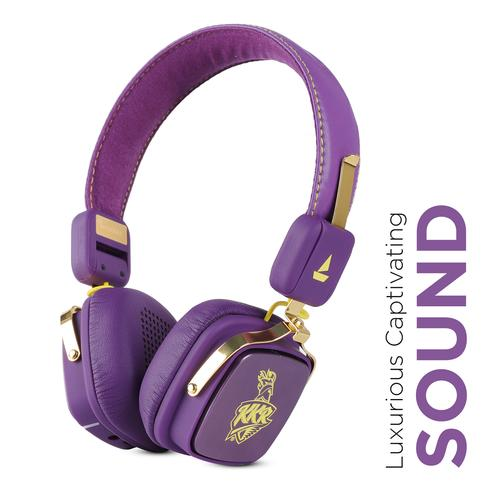boAt Rockerz 600 Kolkata Knight Riders Edition On Ear Wireless Headphones