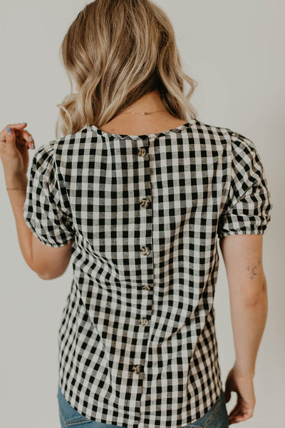 Gretta Gingham Top