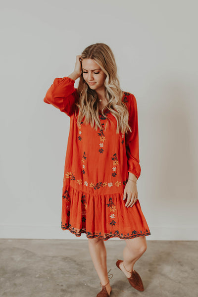 Josie Embroidered Dress