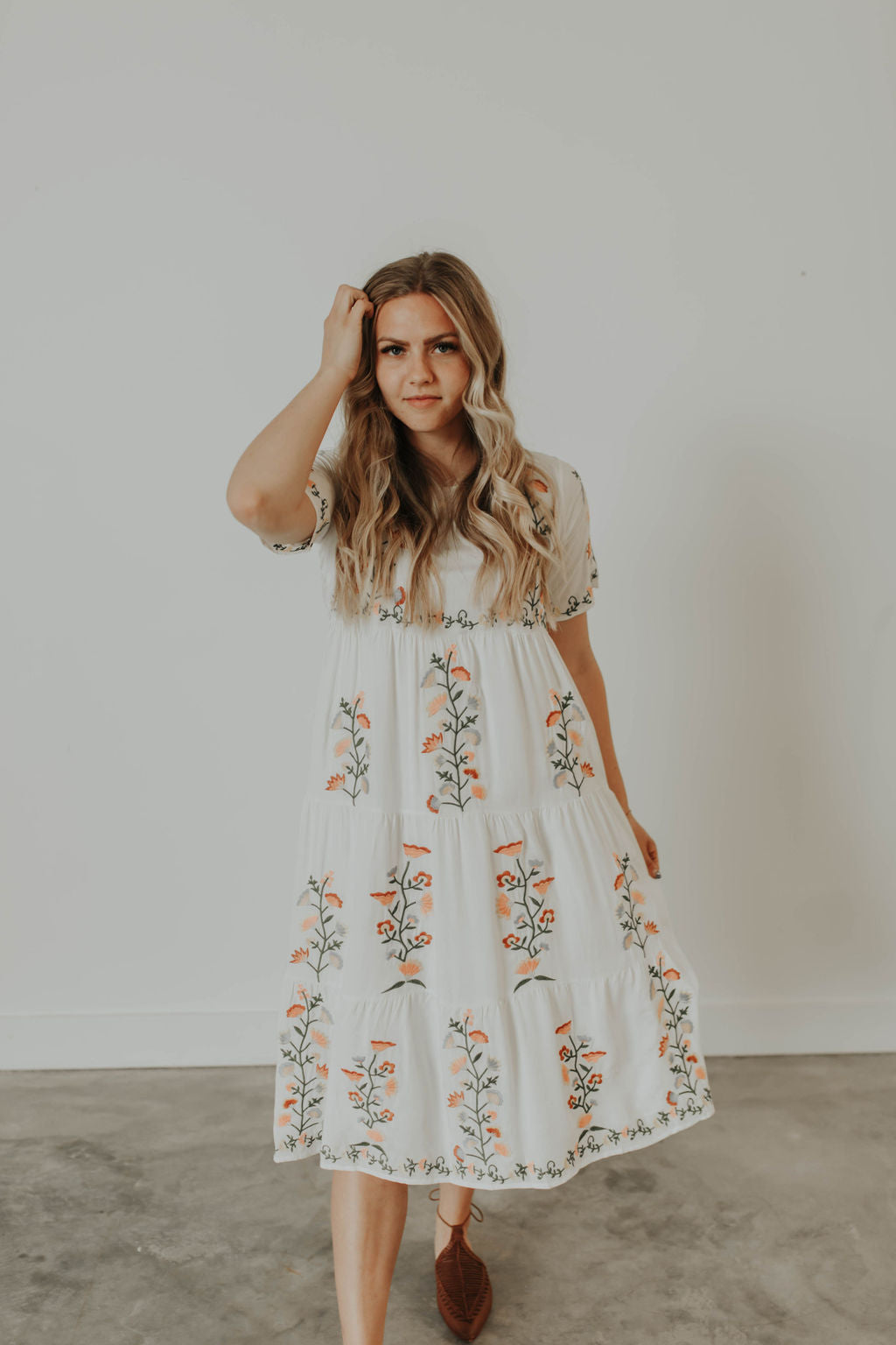 Dallyne Embroidered Dress