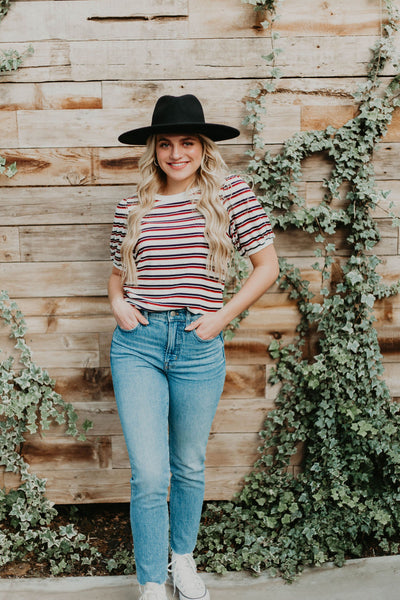 River Striped Top