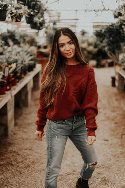 Willow Textured Sweater