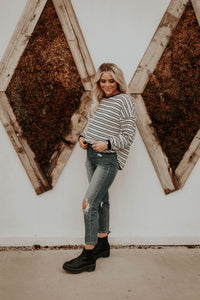 Carley Striped Sweater