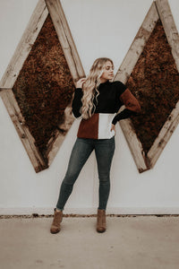 Bennett Color Block Sweater