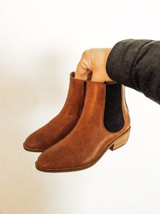 Dakota Booties (Brown)