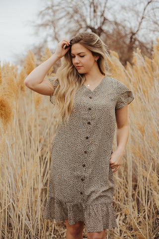 Logan Button Down Dress