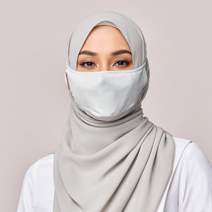 REUSABLE MASK in LITE GREY
