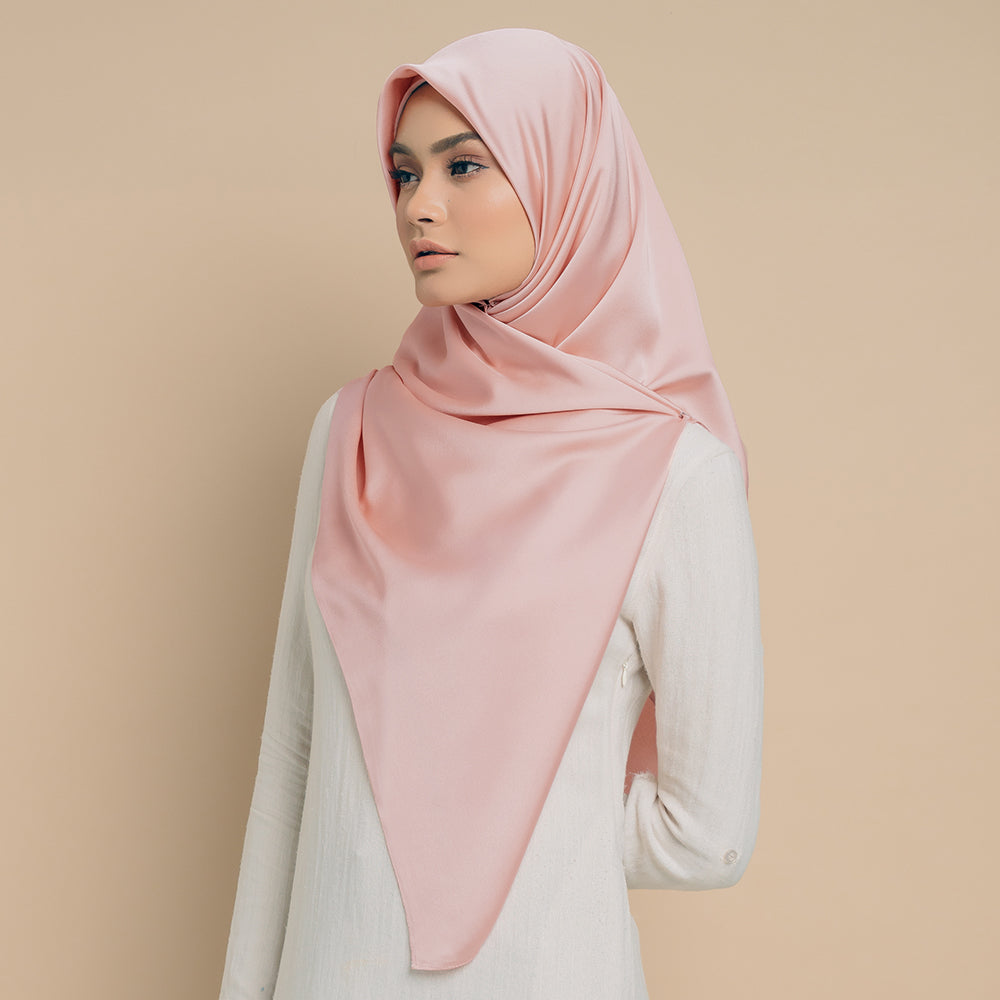 MAYSAA SQUARE ROSE PEACH