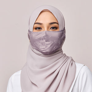 REUSABLE FACE MASK IN VIOLET