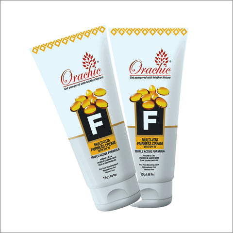 Orachic Multivita Fairness Cream 15gm Combo