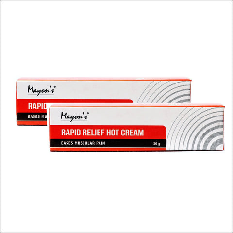 Mayons Rapid relief hot cream Combo