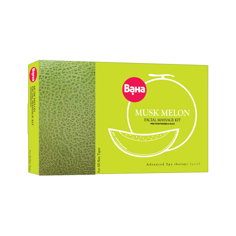 Baha Musk Melon Facial Massage Kit