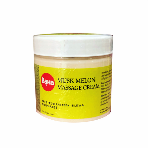 Baha Musk Melon Massage Cream