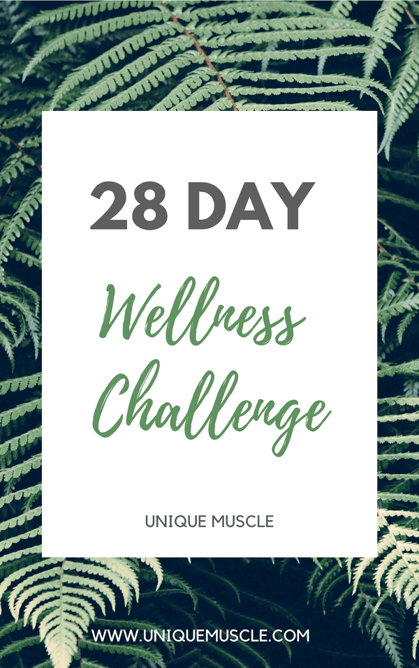 28 Day Wellness Challenge - Free Download