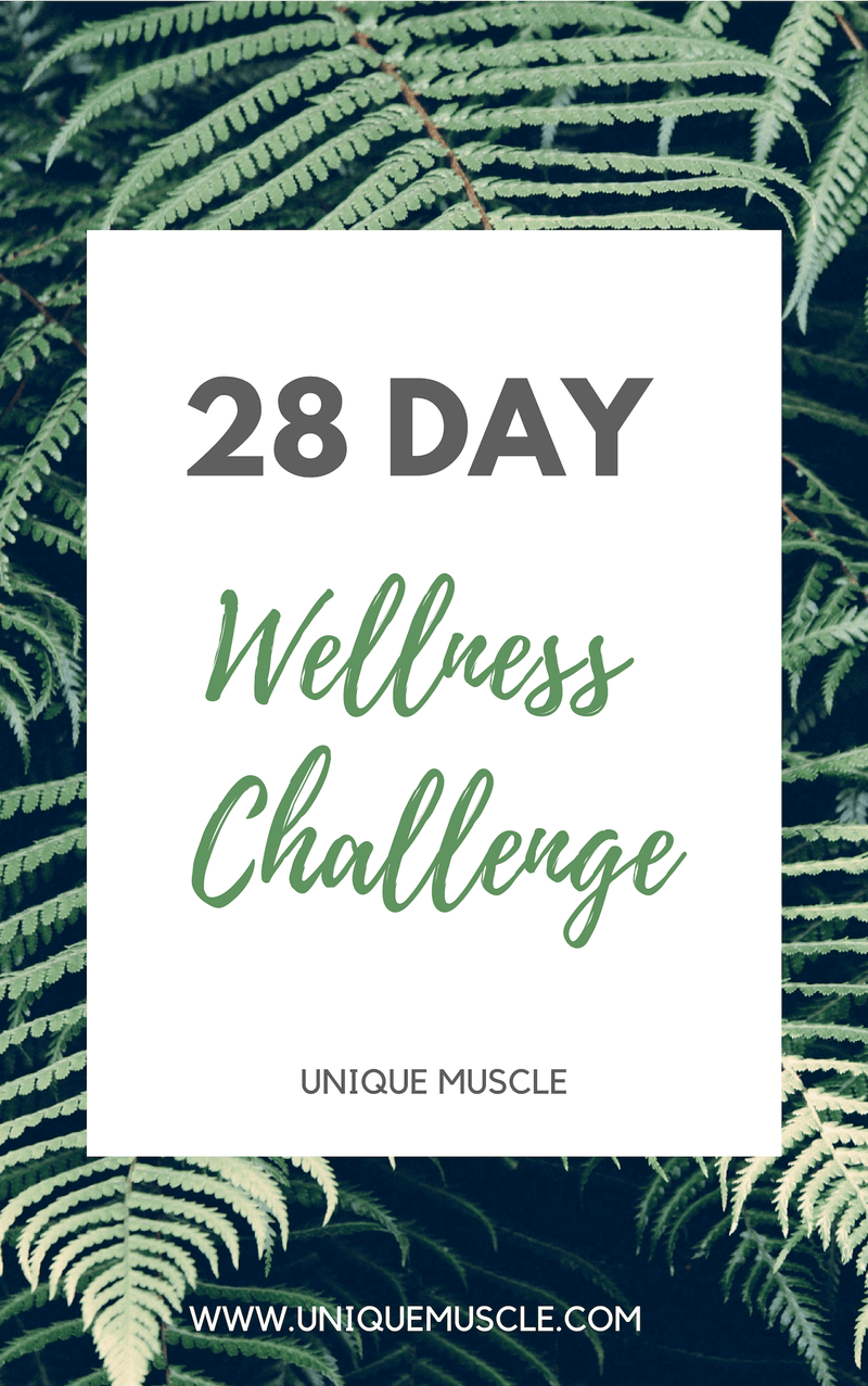 28 Day Wellness Challenge - Free Download - Unique Muscle