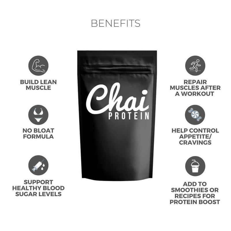 Women's Vanilla Chai Protein Powder - Unique Muscle