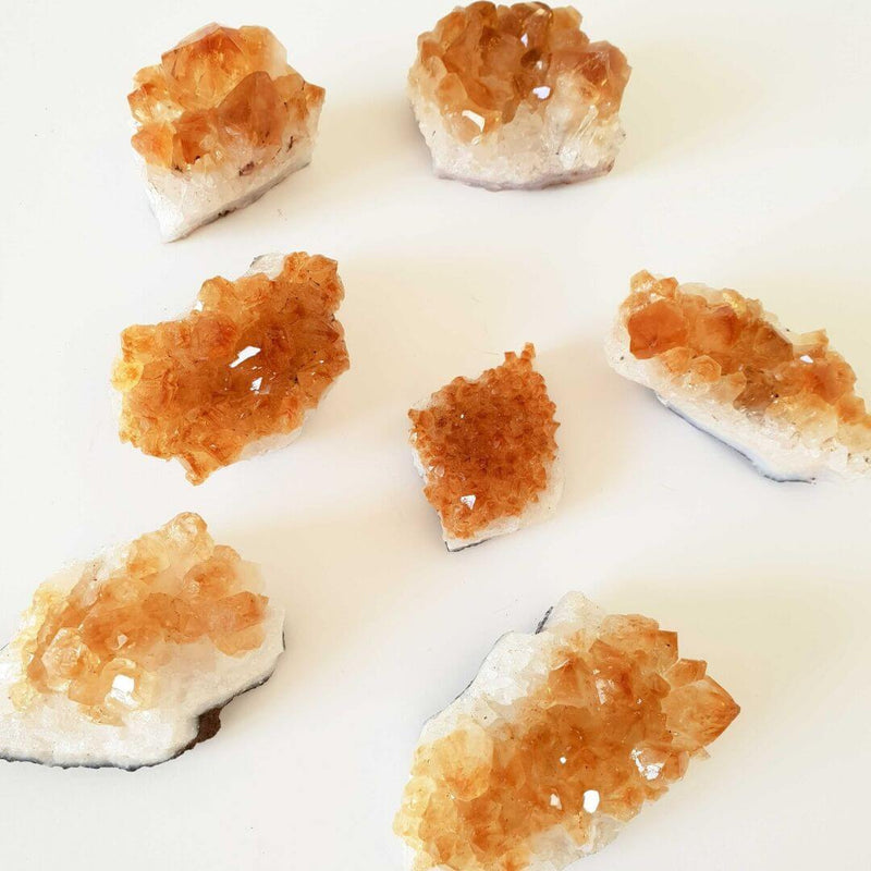Citrine Crystal Cluster - Unique Muscle