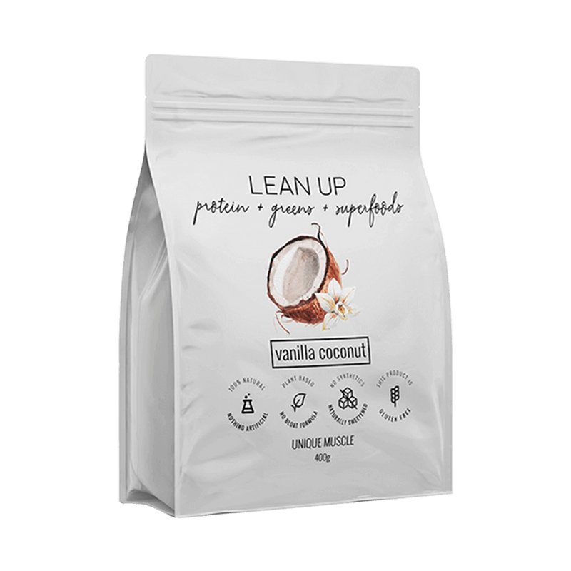 Lean Up - All in One Protein - Vanilla Coconut - Unique Muscle